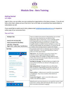 Xero Training Thumbnail